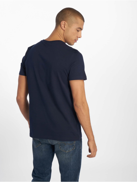 Lacoste t-shirt Navy blauw