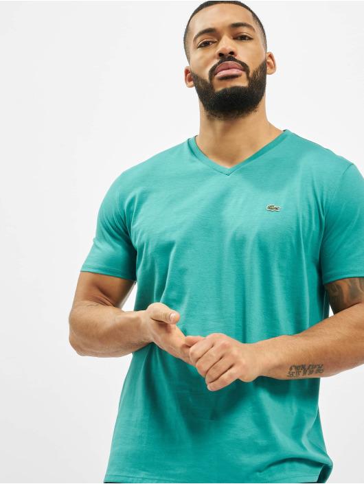 Lacoste t-shirt Basic blauw