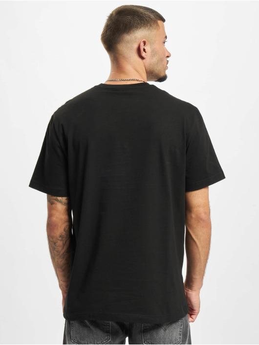 Lacoste T-Shirt Logo Tape schwarz