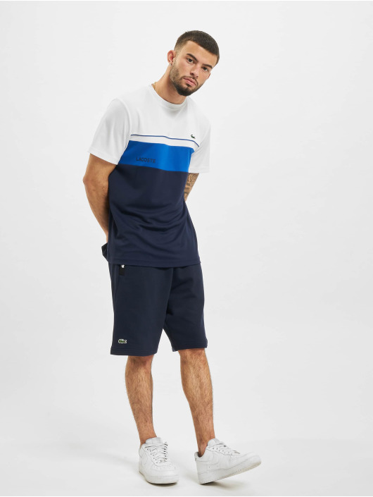 Lacoste T-Shirt Stripe weiß