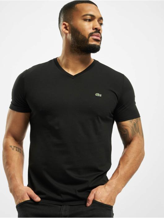 Lacoste t-shirt Basic zwart