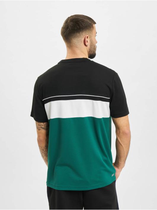 Lacoste t-shirt Stripe zwart