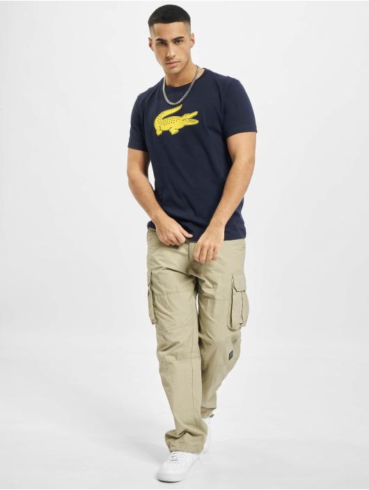 Lacoste T-shirts Sport blå