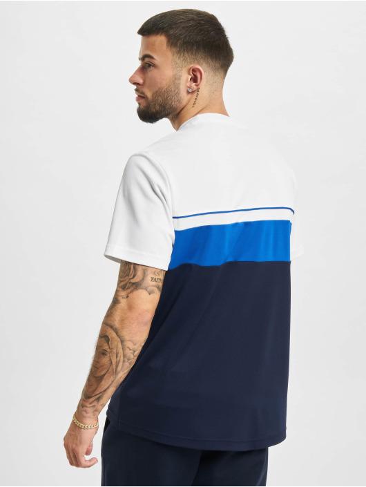 Lacoste T-shirts Stripe hvid