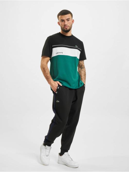 Lacoste T-shirts Stripe sort