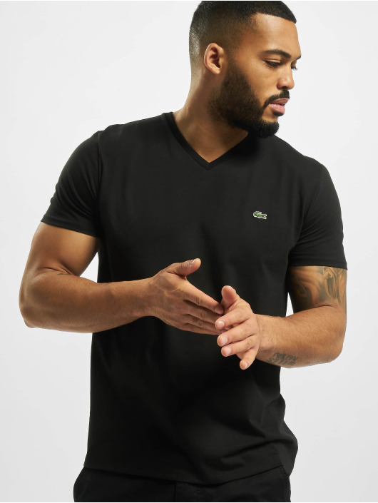 Lacoste T-Shirty Basic czarny