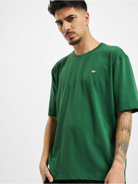 Lacoste T-Shirty Live zielony