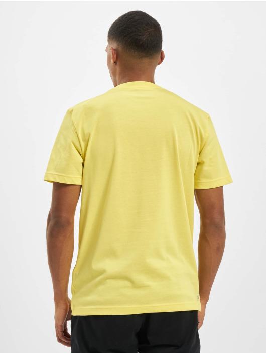 Lacoste T-Shirty Logo zólty