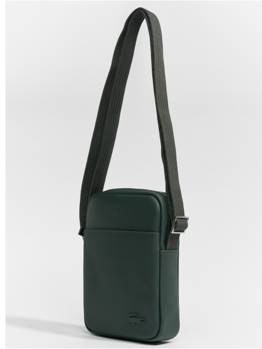 Lacoste Torby Slim Vertical Camera zielony