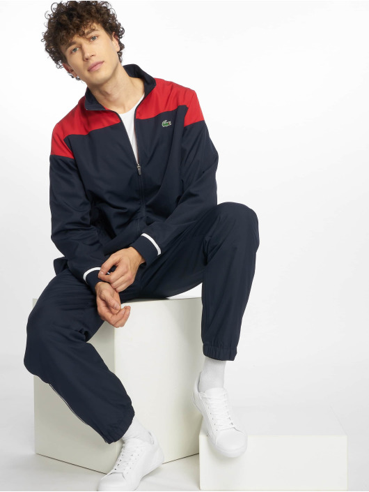 san francisco e08a4 9c4c5 Lacoste Sport Tracksuit Red/Navy Blue-White