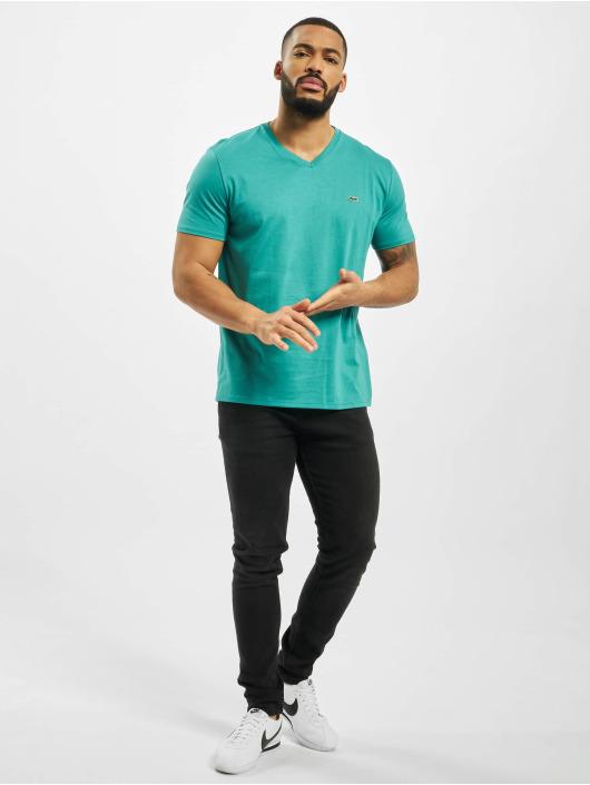 Lacoste Tričká Basic modrá