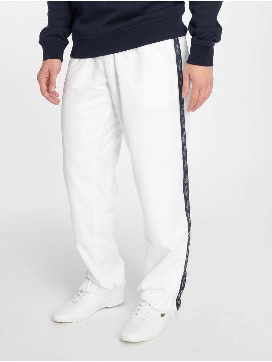 Lacoste Verryttelyhousut Croco Stripe valkoinen