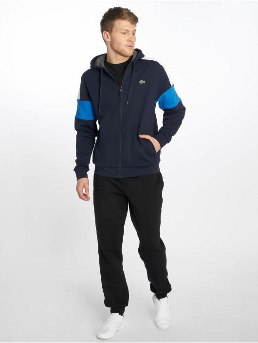 Lacoste Zip Hoodie Sport niebieski