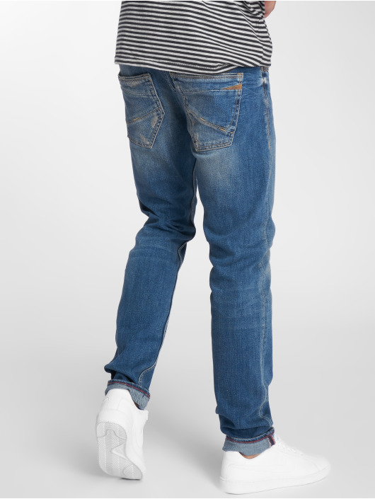 Le Temps Des Cerises Straight Fit Jeans 700/11 blau