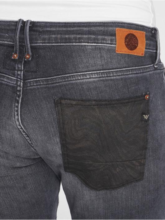 Le Temps Des Cerises Straight Fit Jeans 200/43 svart