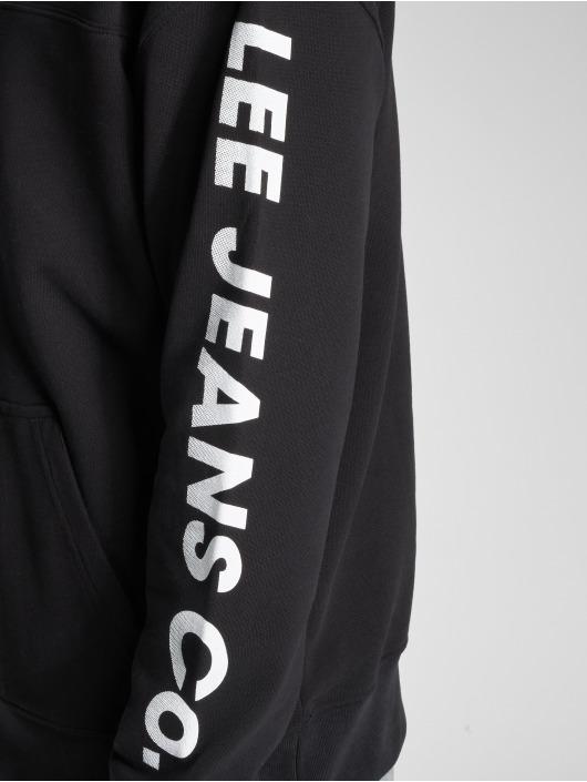 Lee Bluzy z kapturem Jeans czarny