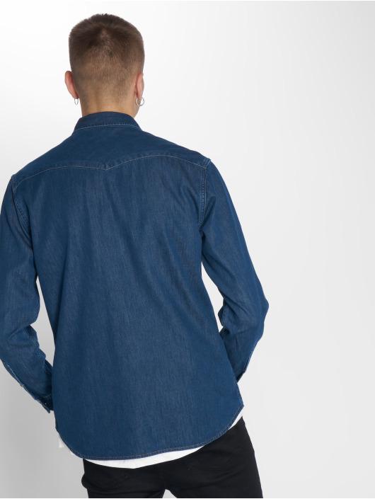 Lee Camisa Western azul