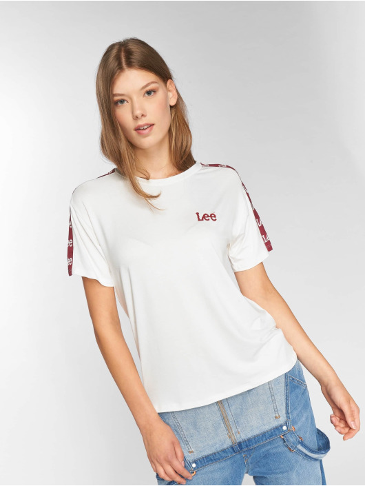 Lee Camiseta Sports Logo blanco