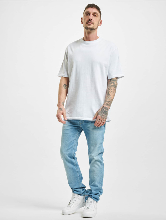 Lee Dżinsy straight fit Powell niebieski
