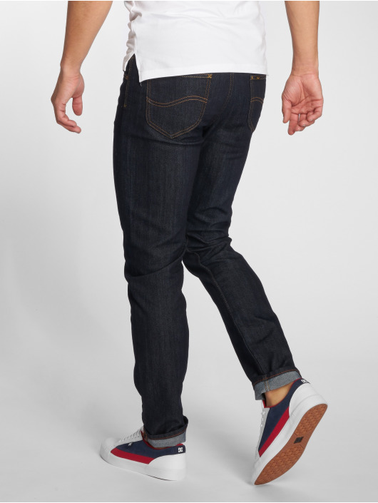 Lee Slim Fit Jeans Rider blau