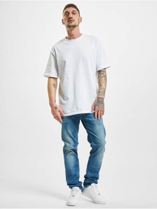 Lee Straight Fit Jeans Daren Button Fly Low blå