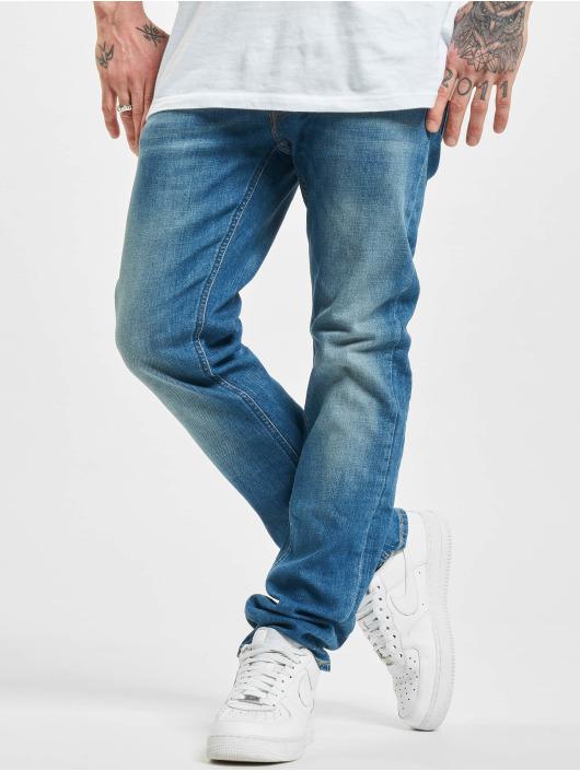 Lee Straight Fit Jeans Daren Button Fly Low blau