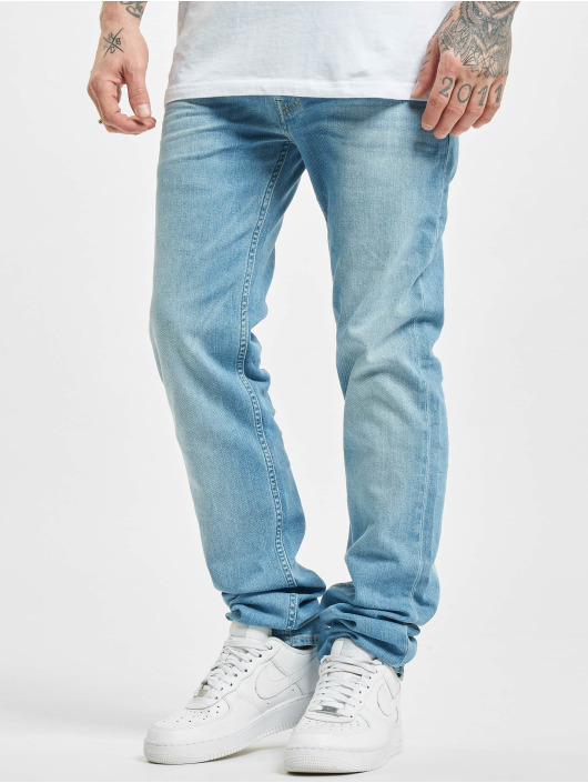 Lee Straight fit jeans Powell blauw