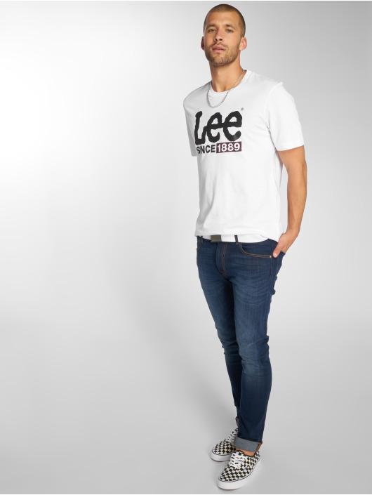Lee T-Shirt 1889 Logo weiß