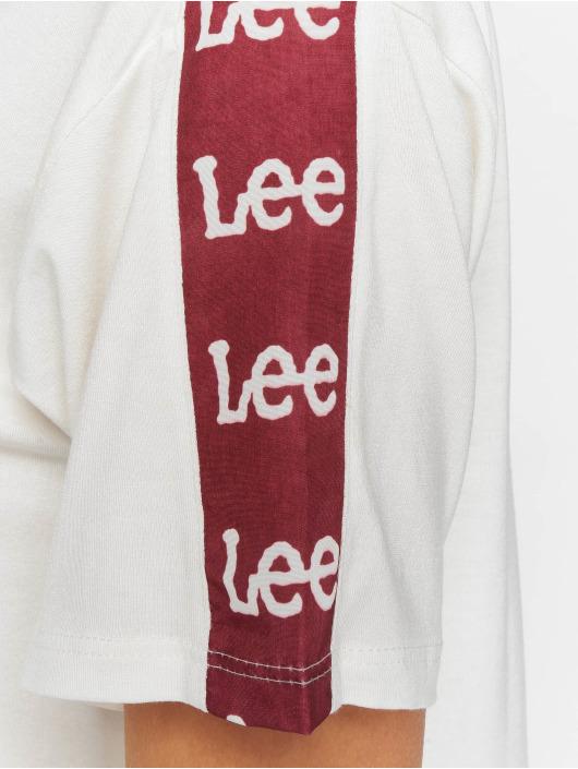 Lee Tričká Sports Logo biela
