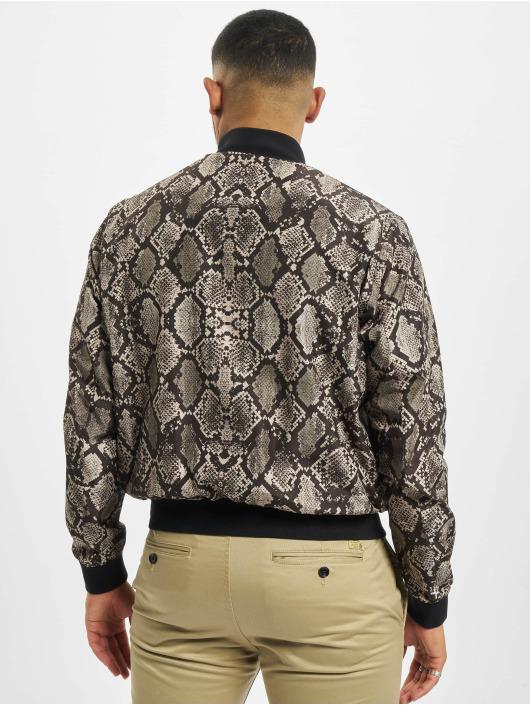 Les Hommes Bomber jacket Snake black