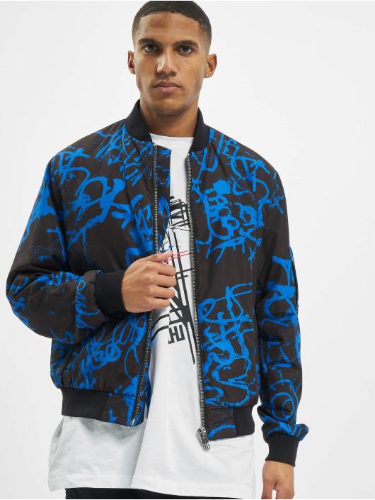 Les Hommes Bomberová bunda Classic modrá