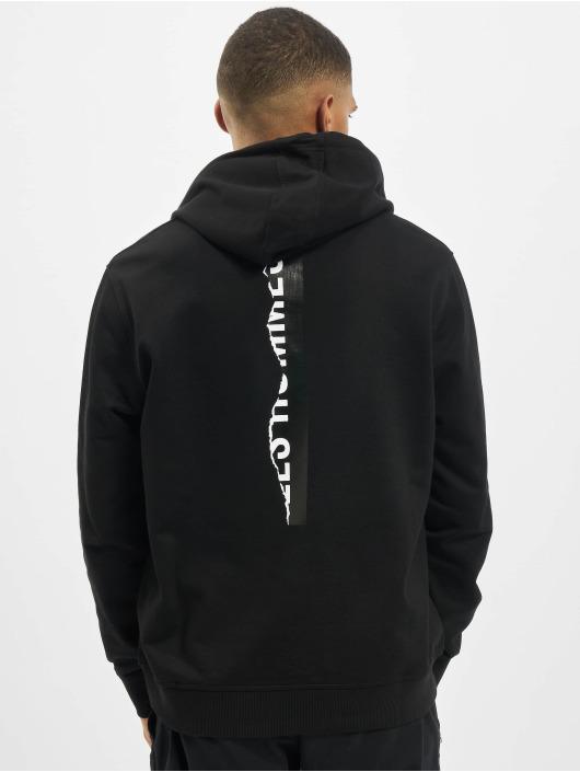 Les Hommes Sweat capuche Logo noir