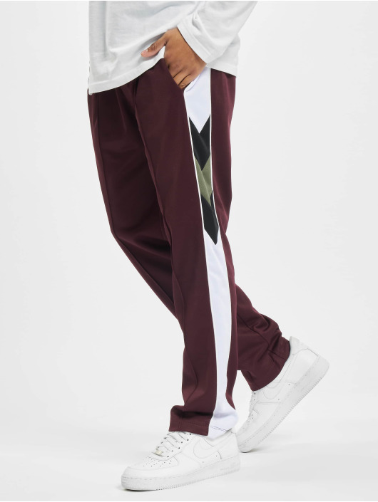 Les Hommes Sweat Pant Contrast red