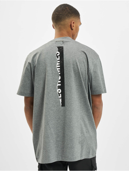 Les Hommes T-shirt Logo grå