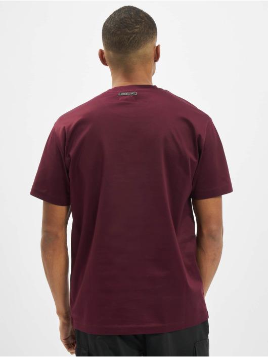Les Hommes T-Shirt LH rouge