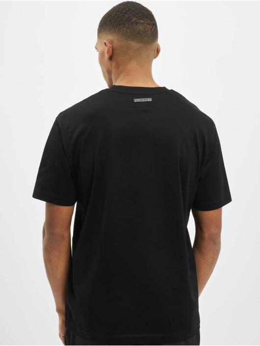 Les Hommes T-shirt Wanted svart