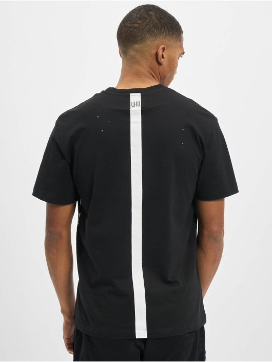 Les Hommes T-shirts Graffiti grå