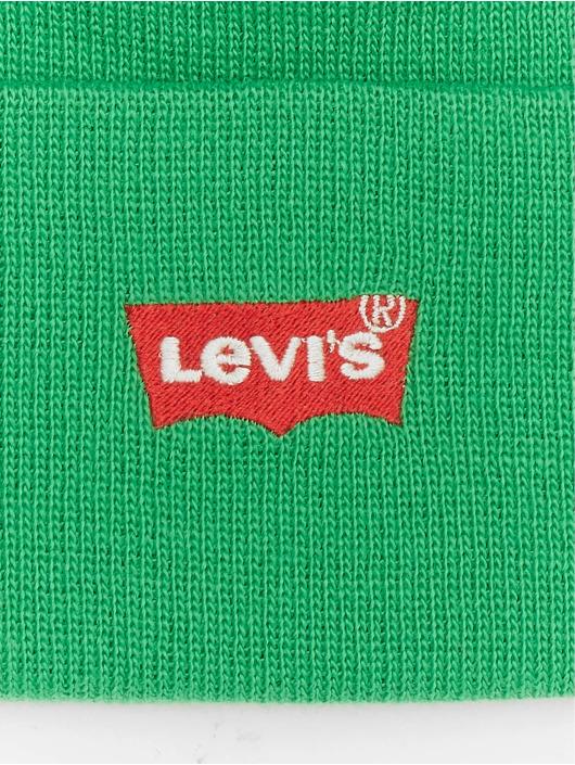 Levi's® Čiapky Red Batwing Embroidered Slouchy zelená