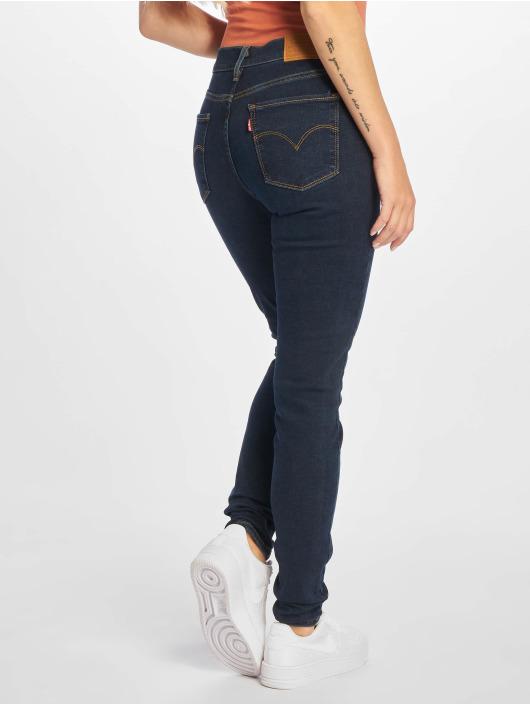 Levi's® Облегающие джинсы 720 Hirise синий