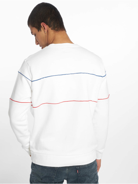 Levi's® Пуловер Reflective Crew Logo белый