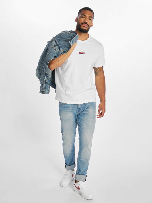 Levi's® Футболка Ss Relaxed Baby Tab T белый