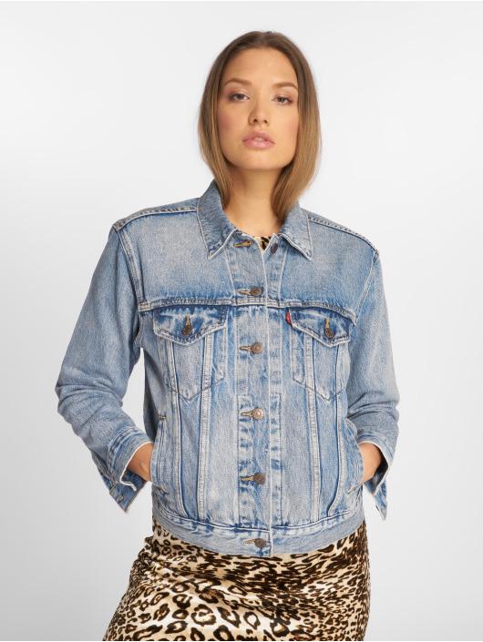 Levi's® джинсовая куртка Exboyfriend Trucker Denim синий