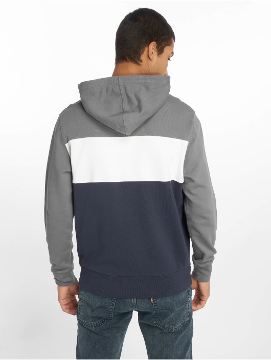 Levi's® Bluzy z kapturem Colorblock Quiet Shade szary