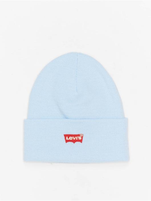 Levi's® Czapki Red Batwing Embroidered Slouchy niebieski
