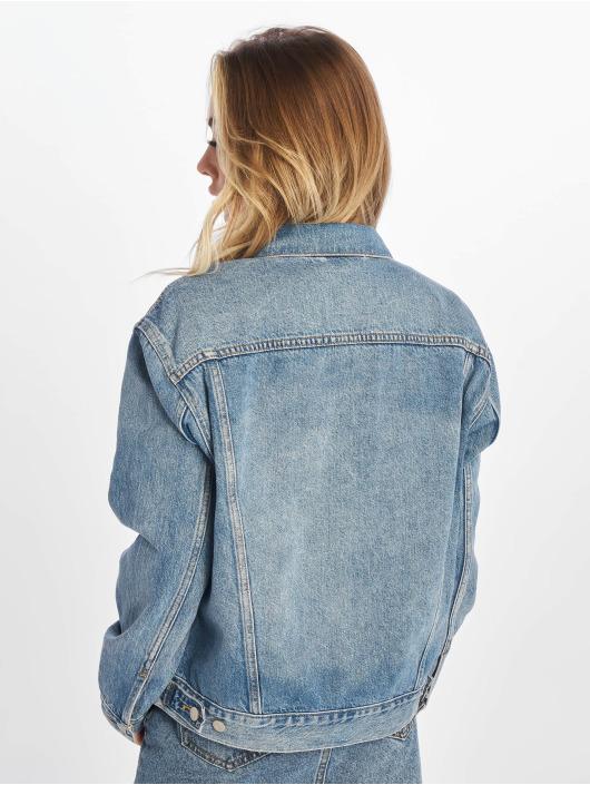 Levi's® Džínová bunda Ex-Boyfriend modrý