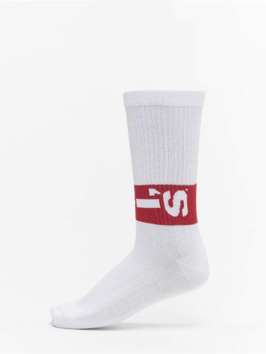 Levis® Dobotex Ponožky 168SF Regular Cut Lazy Tab 2 Pack biela