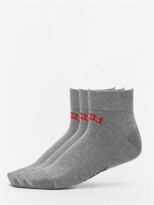 Levis® Dobotex Socken 168SF Mid Cut 3P grau