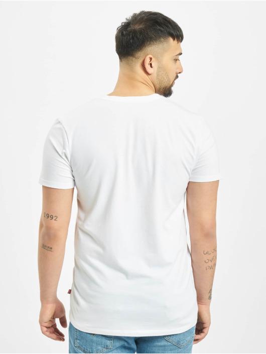 Levis® Dobotex T-skjorter V-Neck 2P hvit