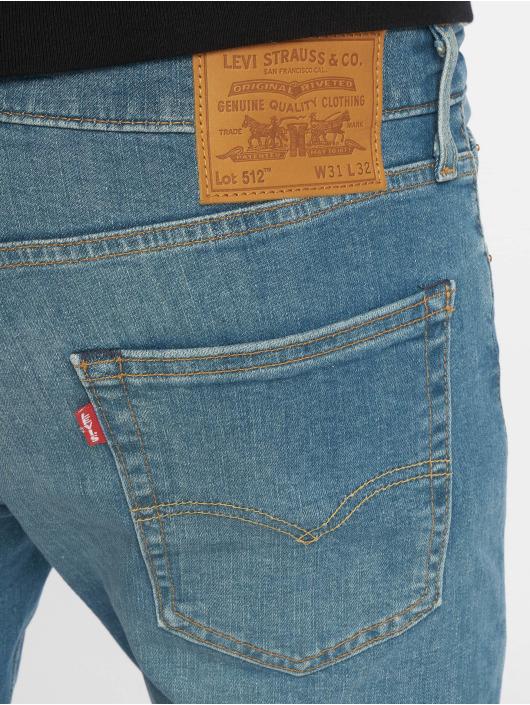 Levi's® dżinsy przylegające 512 Taper 4 Leaf Clover indygo
