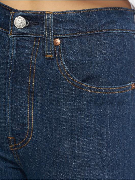 Levi's® dżinsy z wysoką talią 501 Crop Shot indygo